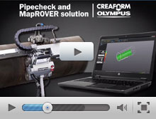 Olympus MapROVER with Pipecheck