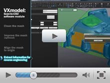 Reverse engineering with VXmodel and Autodesk Inventor