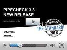 Advanced assessment features of Pipecheck 3.3 pipeline integrity assessment software
