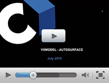 Auto-Surface and CAD Edition in VXmodel and VXinspect