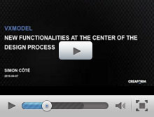 VXmodel New functionalities at the center of the design process
