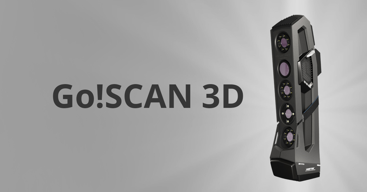 Go!SCAN 3D | White Light Portable [3D Object Scanner] by Creaform