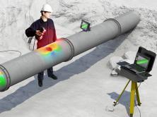 3Dスキャナーを活用したパイプライン機械的損傷評価