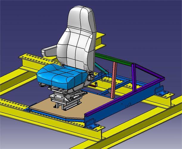 Product Development - Volvo Bus Seat | Automotive | Creaform
