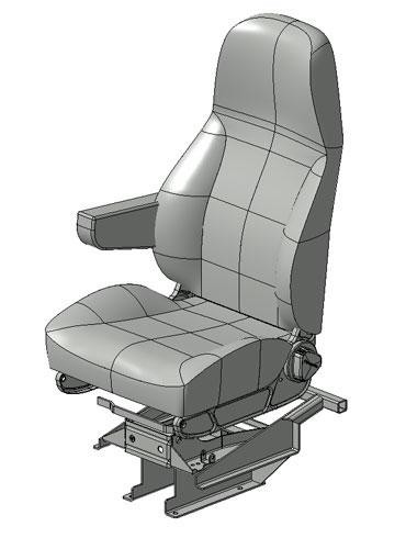 Product Development - Volvo Bus Seat