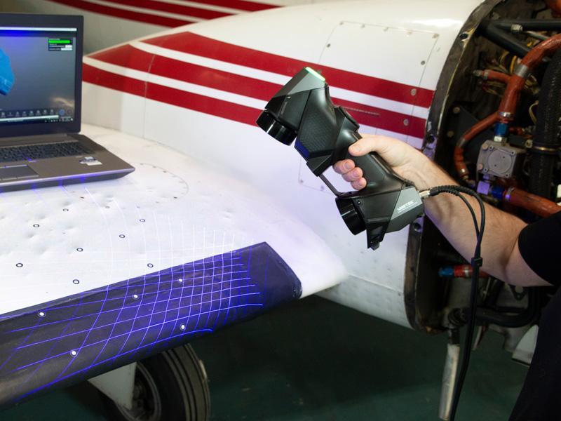 MRO Aviation Services - [NDT 3D Scanner & Software] | Creaform