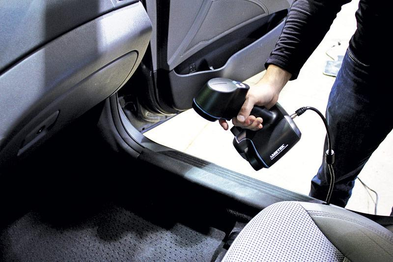 Go!SCAN 3D - Automotive Interior 3D Scanning