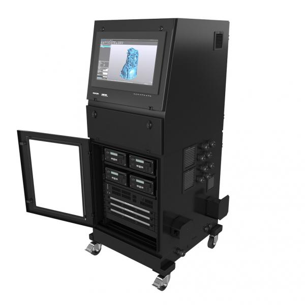 R-Series Productivity Station Door Open