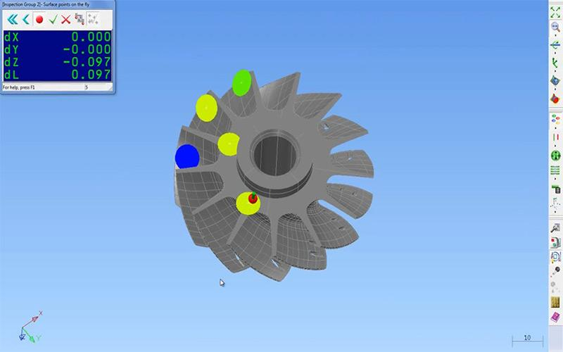 PowerInspect] CMM Inspection Software by Delcam | Creaform