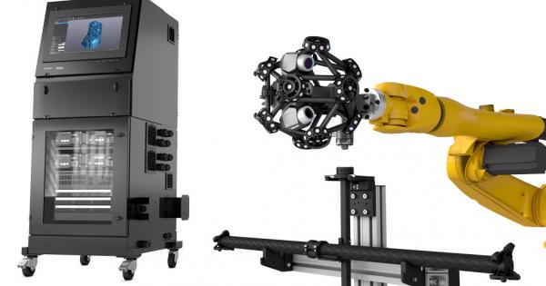MetraSCAN 3D R-Series Automated Inspection solutions