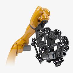 Scanners CMM 3D óptico montados por robô: MetraSCAN3D R-Series