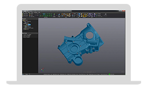 VXmodel: Modulo software scansione in CAD