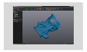 VXmodel: 스캔 - CAD 소프트웨어 모듈