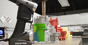 Der HandySCAN 3D im Einsatz bei Alphacasting
