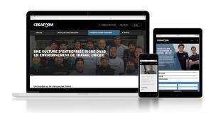 Nouveau site carrières de Creaform