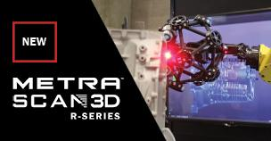 Creaform MetraSCAN 3D R-Series for Automated Inspection