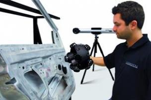 Optical 3D Scanner MetraSCAN 3D