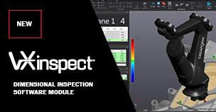 VXinspect dimensional inspection software module
