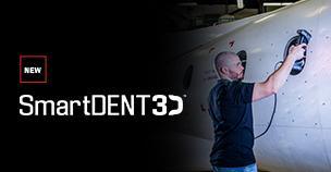 Creaform Launches SmartDENT 3D™, a Powerful Aircraft Surface Inspection Software