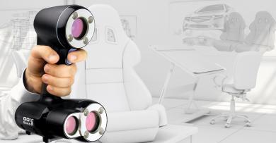 CREAFORM 发布GO!SCAN 3D扫描仪 – 市场上最快速,简单的扫描体验