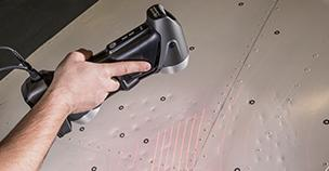 Creaform HandySCAN 3D scanner and hail damage assessment solution
