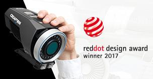 Le MaxSHOT Next de Creaform reçoit le Red Dot Award : Product Design 2017!