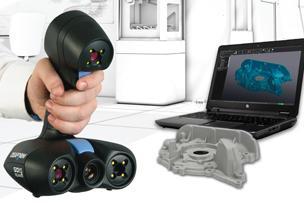 Creaform präsentiert die perfekte 3D-Scanlösung für 3D-Druckanwendungen