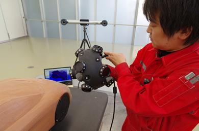 The MetraSCAN 3D simplifies the design and development process for Japanese automotive and motorcycle manufacturers