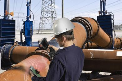 3D Scanning for Non-destructive Testing (NDT) in Refineries