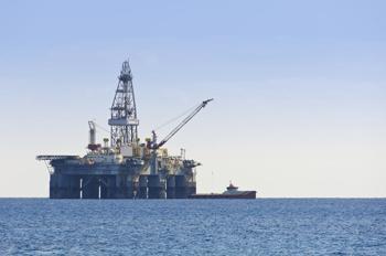 Numerical simulation on offshore platform
