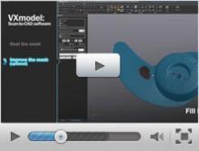 Reverse engineering con VXmodel e SOLIDWORKS