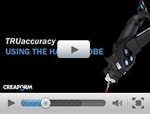 TRUaccuracy using the HandyPROBE