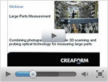 Measuring large parts - Combining photogrammetry and portable 3D scanning with probing optical technology