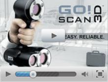 New Go!SCAN 3D Scanner - Fastest, Easiest 3D Scanning Experience on the Market!